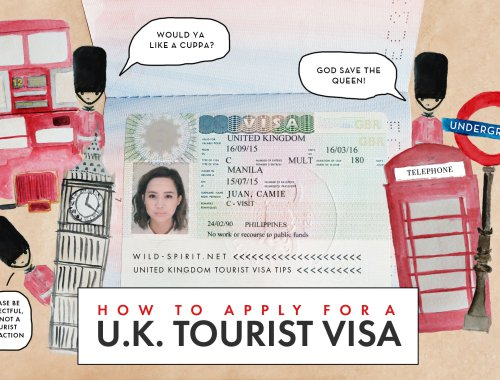 How to apply for UK Tourist visa