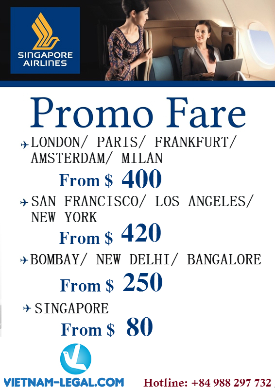 latest offers from Singapore Airlines