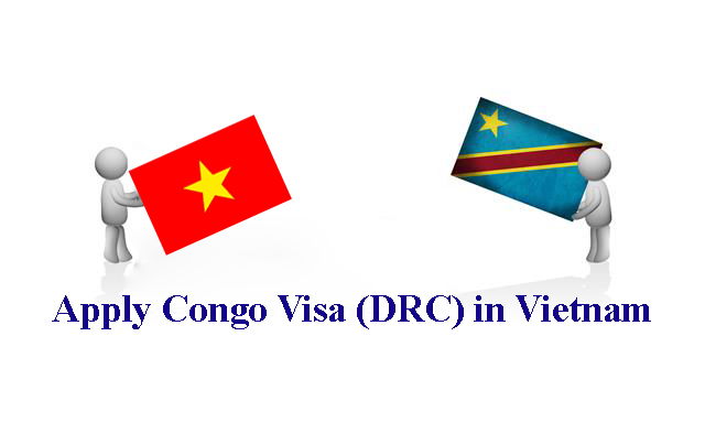 Apply visa to Congo (DRC) in Vietnam