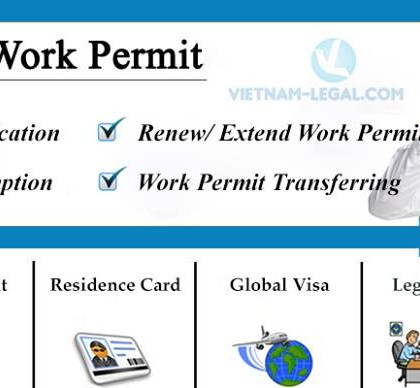 Work Permit & Residence Card For Foreign Labors Working In Vinh Phuc
