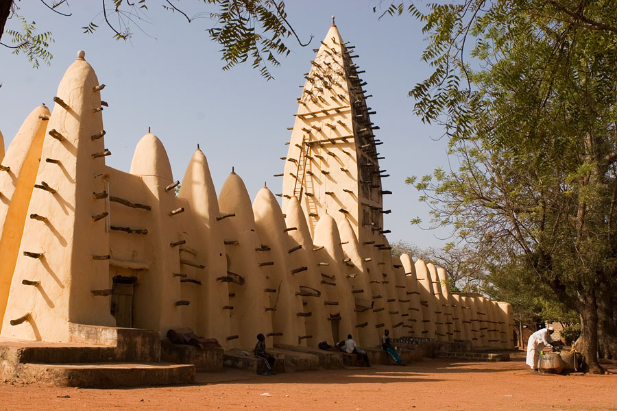 Old mosque Bobo-Dioulasso