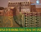 VISA ĐI BURKINA FASO CHỈ TỪ 395 USD
