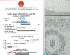 Legalization Result of Ukraine Document for use in Vietnam