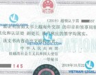 Legalization Result of Vietnamese Company Authorization Letter for use in China, October 2019