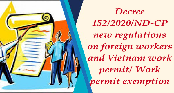 new regulations according to Decree 15.2020.ND-CP